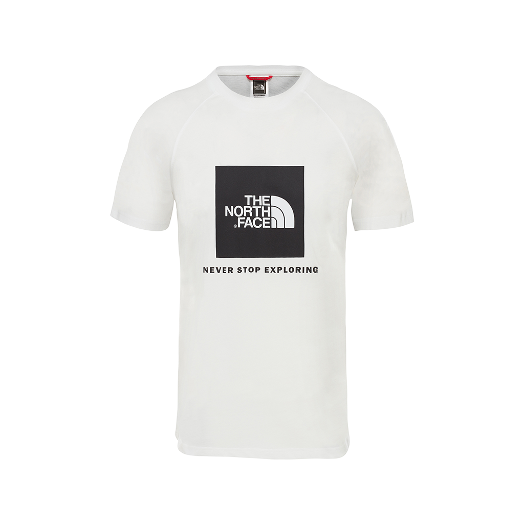 The North Face Rag Red Box Tee (white)