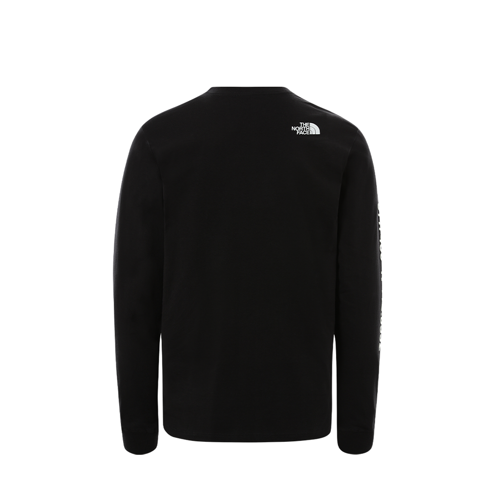 The North Face Coordinates LS Tee (black)