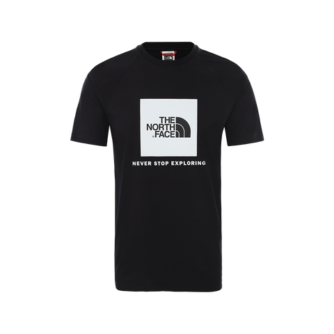 The North Face Rag Red Box Tee (black)