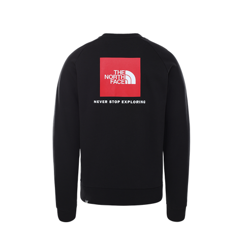 The North Face Raglan Red Box Crew (black/red)