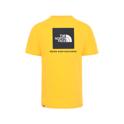 The North Face Rag Red Box Tee (summit gold/black)