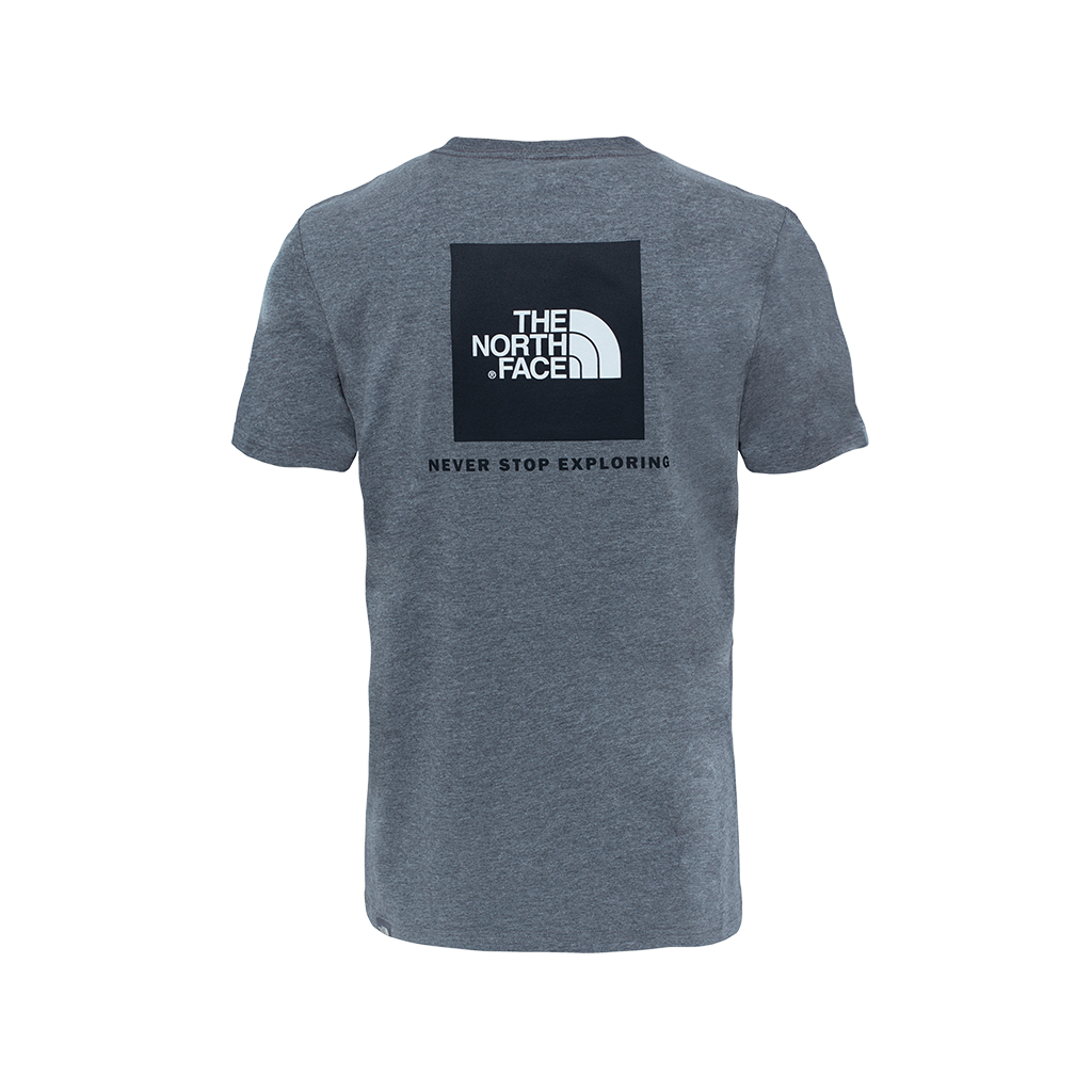 The North Face Red Box Tee (medium grey)
