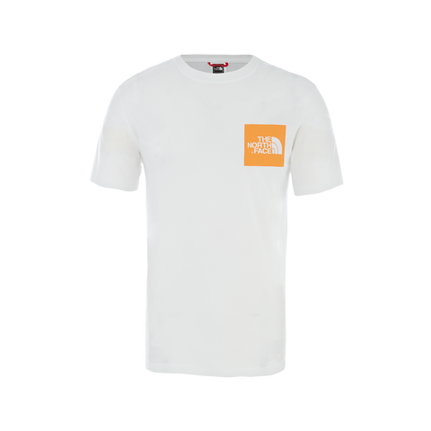 The North Face S/S Fine Tee (white/flame)