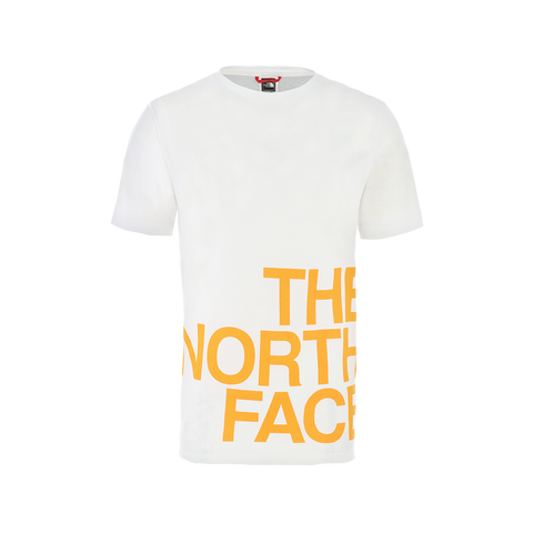 The North Face S/S Graphic Flow 1 (white/flame)