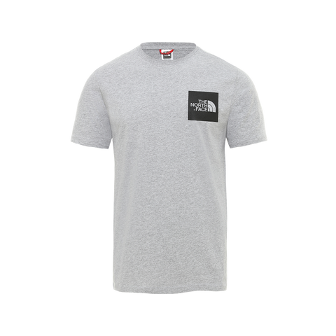 The North Face S/S Fine Tee (heather grey)