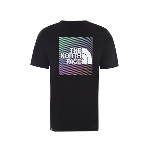 The North Face SS Rainbow Tee (black)