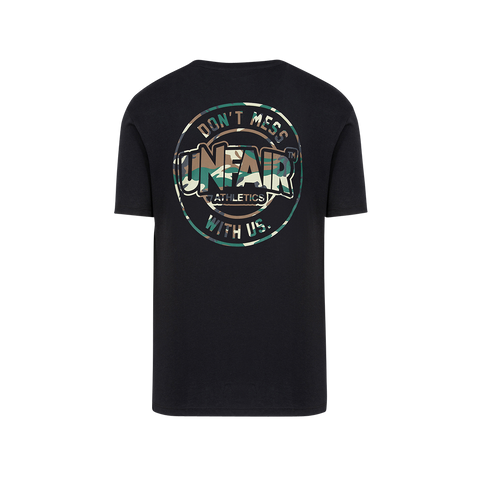 Unfair Athletics DMWU Classic T-Shirt (brushed black/camo)