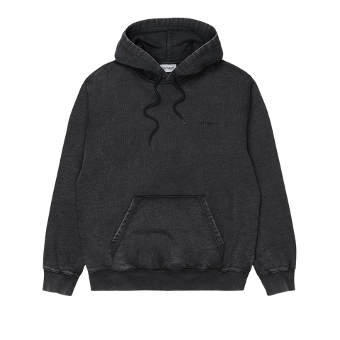 Carhartt Hooded Mosby Script Sweat (black)