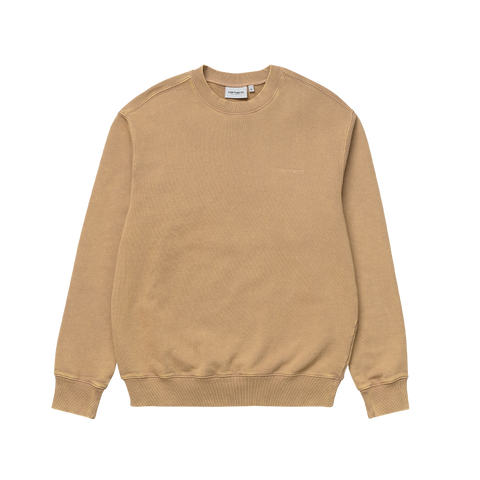 Carhartt Mosby Script Sweat (dusty hamilton brown)