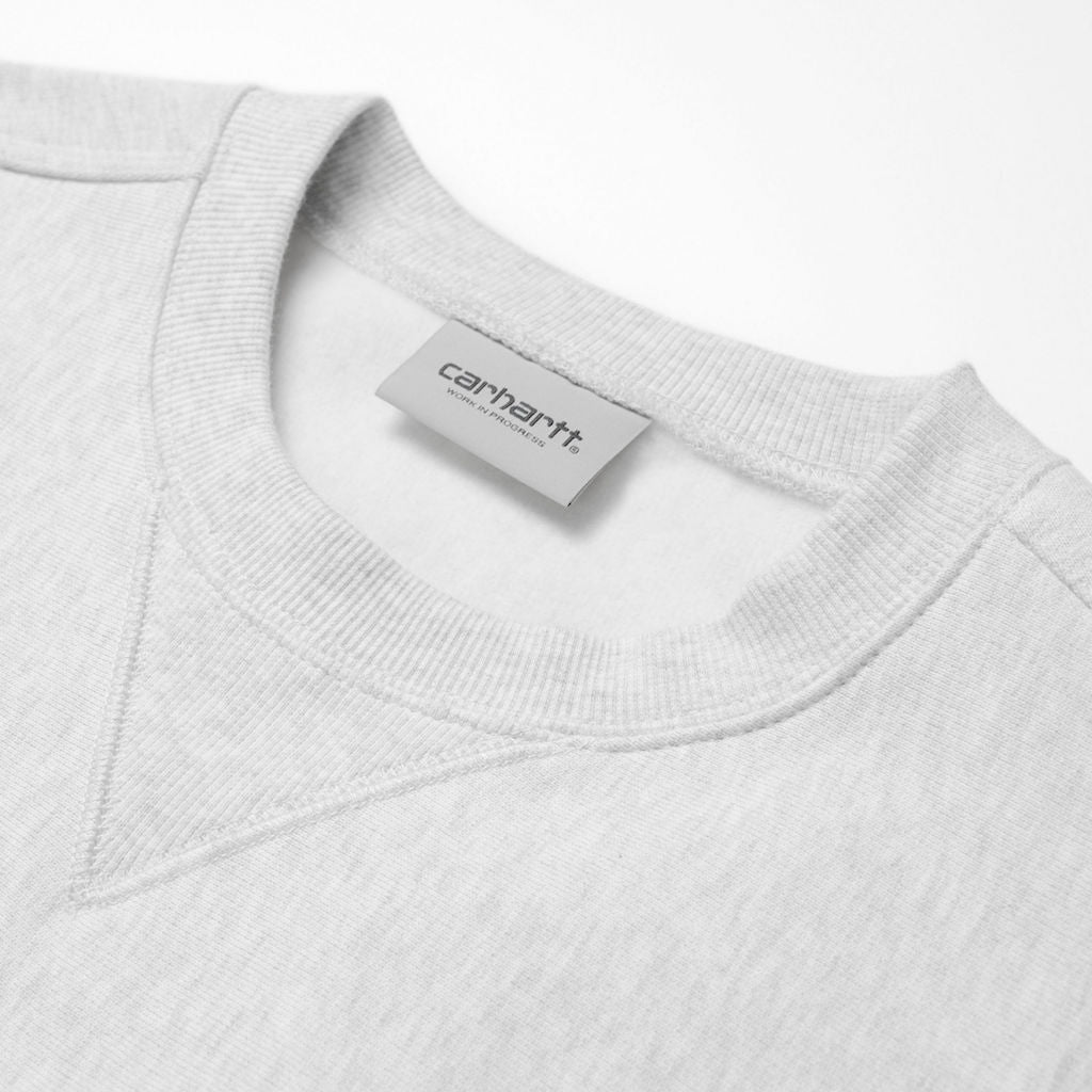 Carhartt WIP American Script Sweat (ash heather)