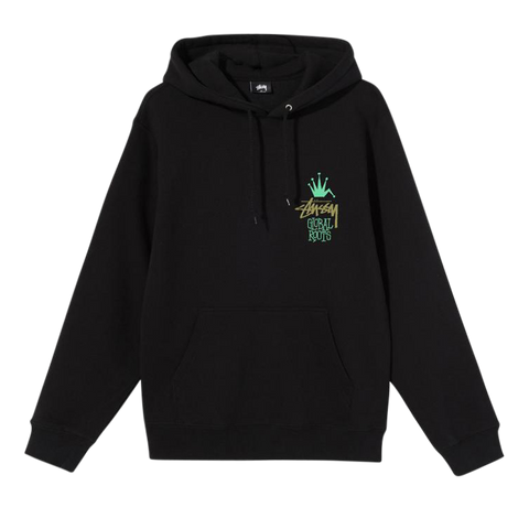 Stüssy Global Roots Hood (black)