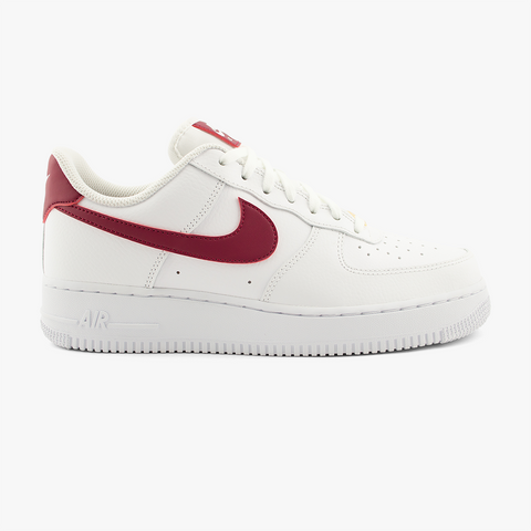 Nike WMNS Air Force 1´07 (weiß/rot)-Footwear-Blue Mountain Store