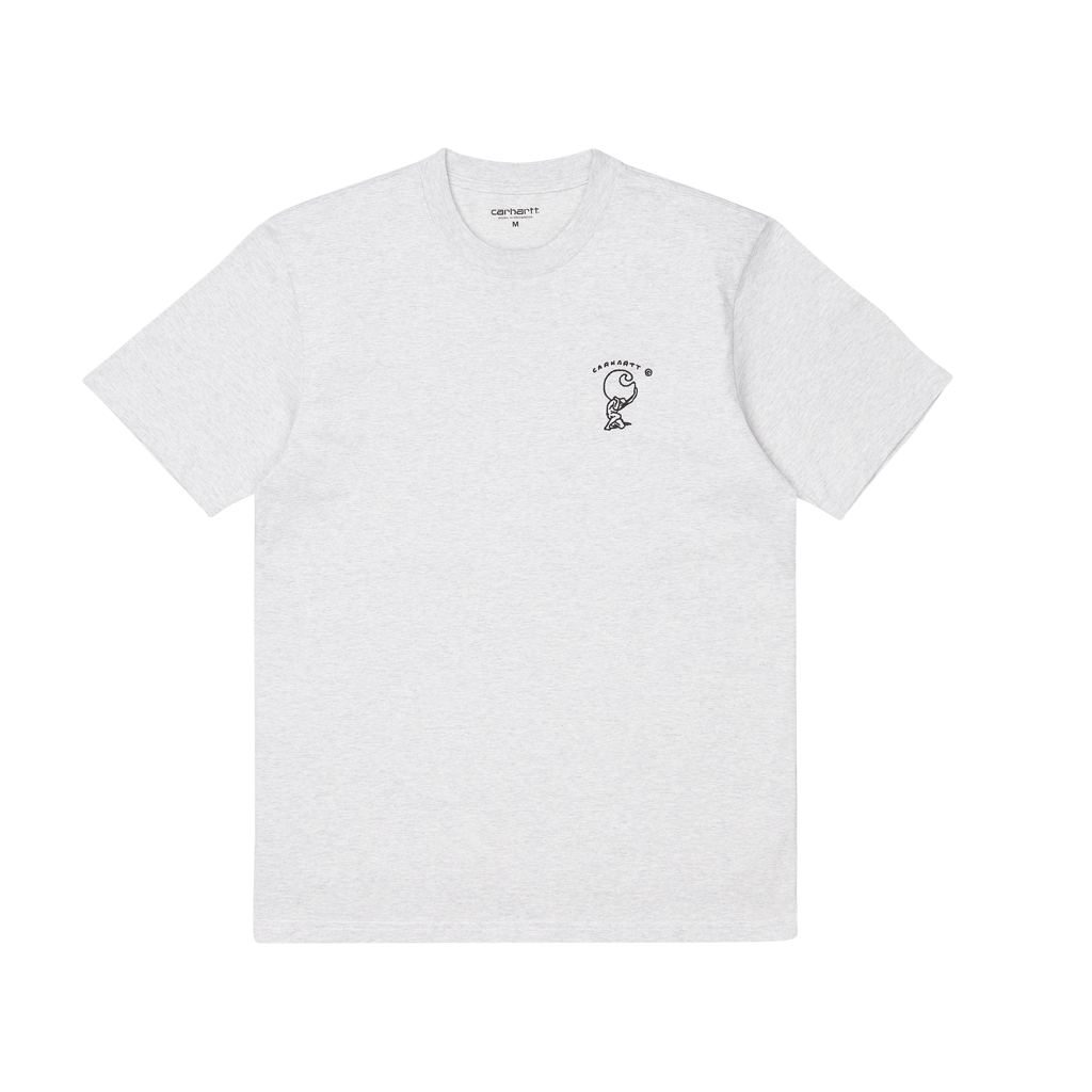 Carhartt WIP S/S Misfortune T-Shirt (ash heather)