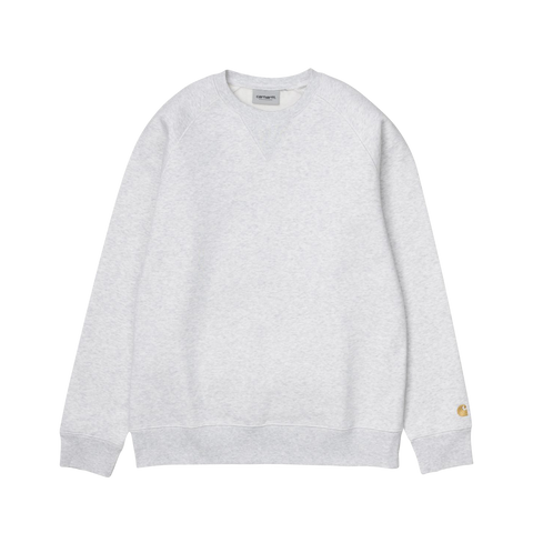 Carhartt Chase Sweat (ash heather/gold)
