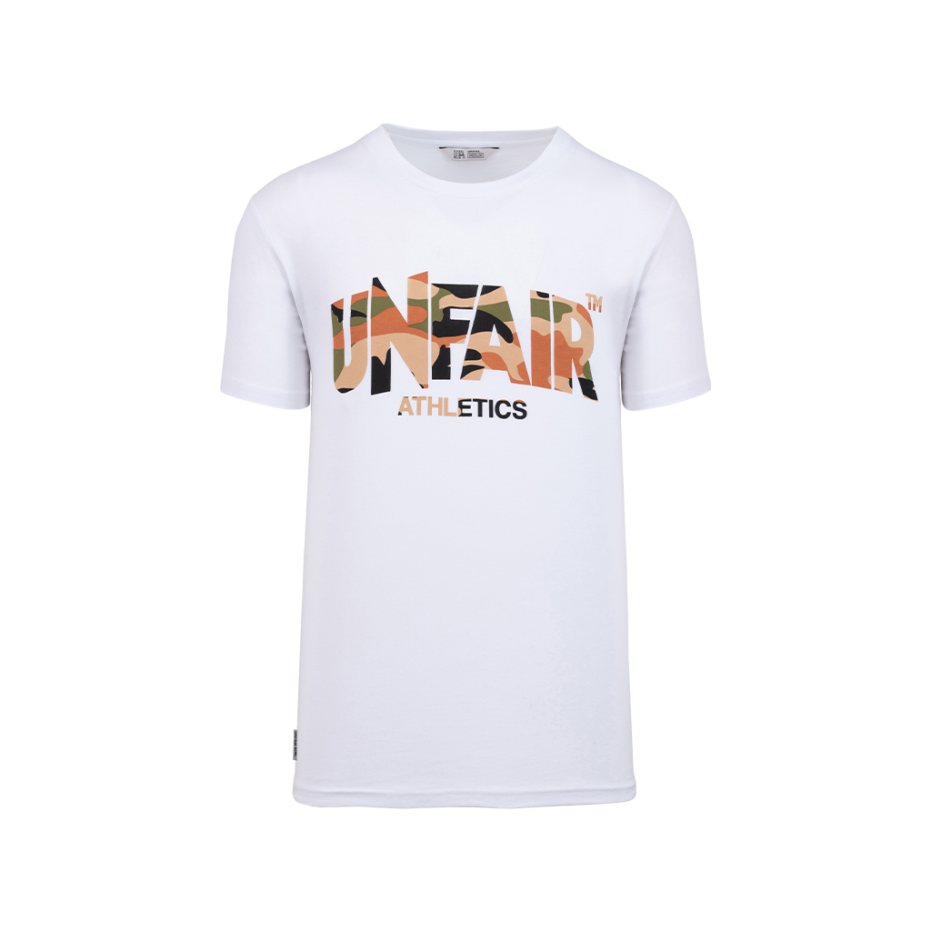 Unfair Athletics Classic Label Tee (Safari/Camo)