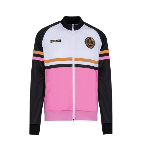 Unfair Athletics DMWU Tracktop Palermo (white/rose)