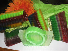 Luxurious handcrafted soaps