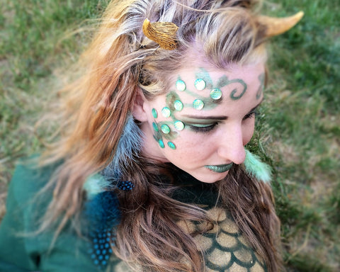 Dragon Scale Face Decals
