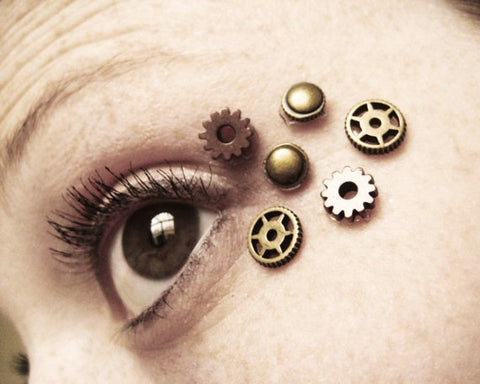 Steampunk Eye Decal Face Bindis 36A