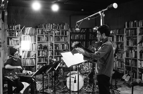Malfliet Trio in studio