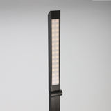 On My Desk 990016 LED Desk Lamp USB Charging Ports - Adjustable Light Temperature 6-Level Dimming Matte Black