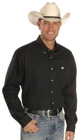 Mens Cinch Classic Fit Black