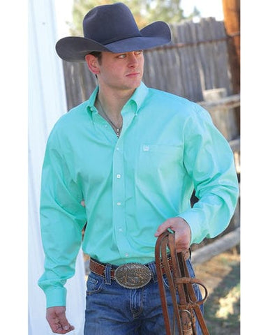 Mens Cinch Classic Fit Green