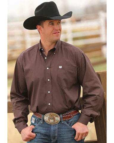 Mens Cinch Classic Fit Brown