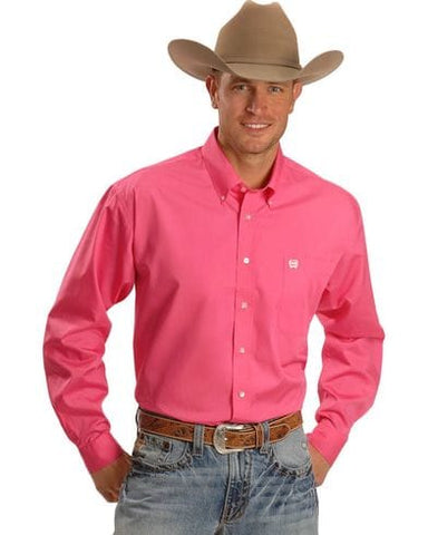 Mens Cinch Classic Fit pink