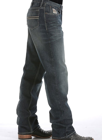 Mens White Label Cinch Jeans Dark wash