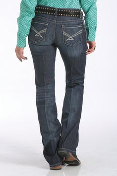 Womens Cinch Jean ADA Dark