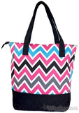 Chevron Canvas lined Tote
