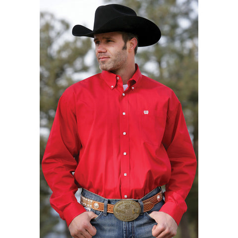 Mens Cinch Classic Fit Red