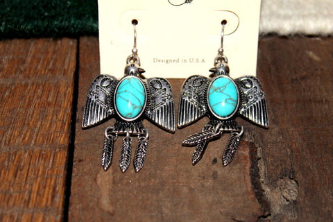 Aztec Thunderbird Earrings