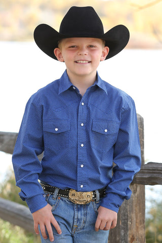 Boys snap Cinch Shirts