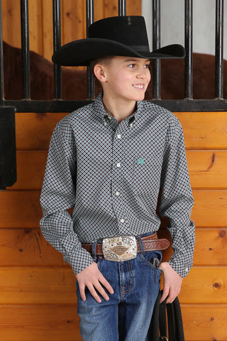 Boys Cinch Match Dad Shirt