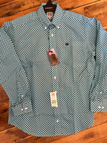 Men's cinch pattern shirt