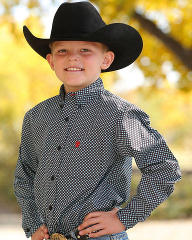 Boys Match Dad Cinch shirts