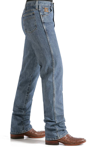 Mens Cinch Bronze Label Jeans Medium Wash