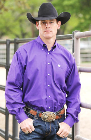 Mens Cinch Classic Fit Purple