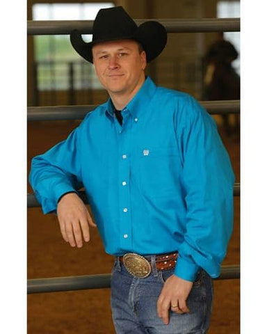 Mens Cinch Classic Fit Teal