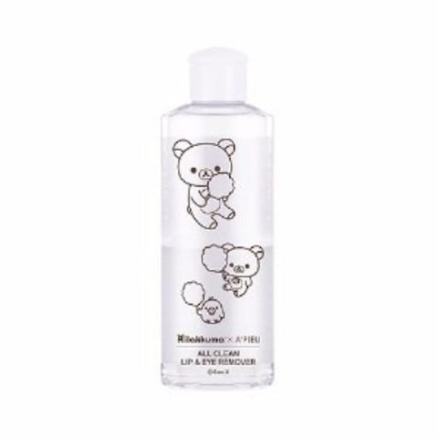 [APIEU] All Clean Lip & Eye Remover - White Lily (Rilakuma Edition) 160ml - misstutii