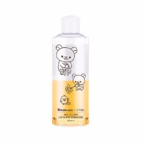 [APIEU] All Clean Lip & Eye Remover - Calendula (Rilakuma Edition) 160ml - misstutii