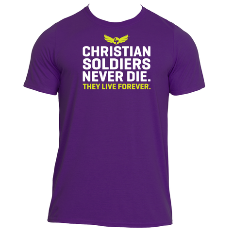 christian soldiers never die