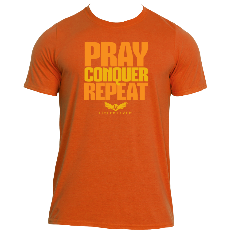 pray, conquer, repeat