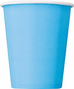 14PK 9OZ POWDER BLUE CUPS