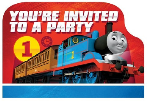 8PK THOMAS POSTCARD INVITATIONS