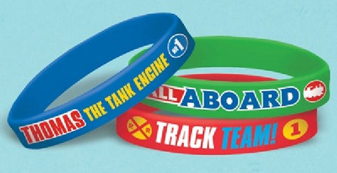 6PK THOMAS ALL ABOARD RUBBER BANDS