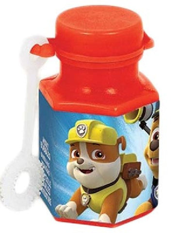 PAW PATROL MINI BUBBLES BULK (sold in 12's)