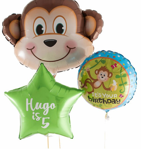 Monkey Personalised Bouquet - Code 00220